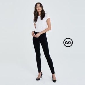 AG The Farrah High Rise Skinny in Black
